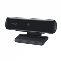 Aukey 1080p Webcam PC-W1 Black, USB