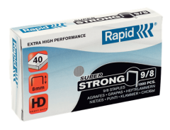 Klambrid 9/8 tsink 1000tk/pk, Strong, Rapid /5