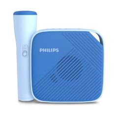 Philips Bluetooth® v4.2 speaker TAS4405N/00 3W, one touch recording to microSD card, wireless microphone, 6h battery life, audio input 3,5 mm jack